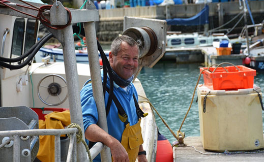 Dreckly Fish made quite a splash when they started selling their sustainable catch direct via social media. And they're still thriving, finds Mike Warner, as he goes out lobster fishing with newest recruit Louis Mitchell.
