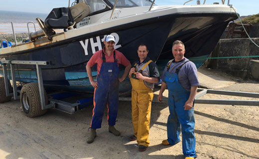 Mike Warner heads to the North Norfolk coast to meet the enterprising Bywater brothers and find out what it takes to catch and prepare the famous Cromer crab.