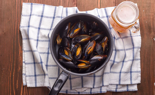 The explosion in craft brewing has sparked a renaissance in partnering food, including seafood, with beer. Lucy Bridgers explores some matches made in heaven.