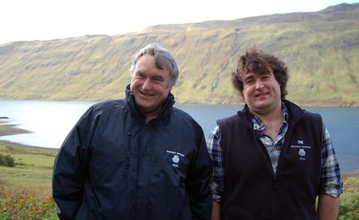 Every wondered why hand-dived scallops are so special (or indeed so big)? Check out David and Ben Oakes' ranching approach at lovely Loch Sligachan on the Isle of Skye.