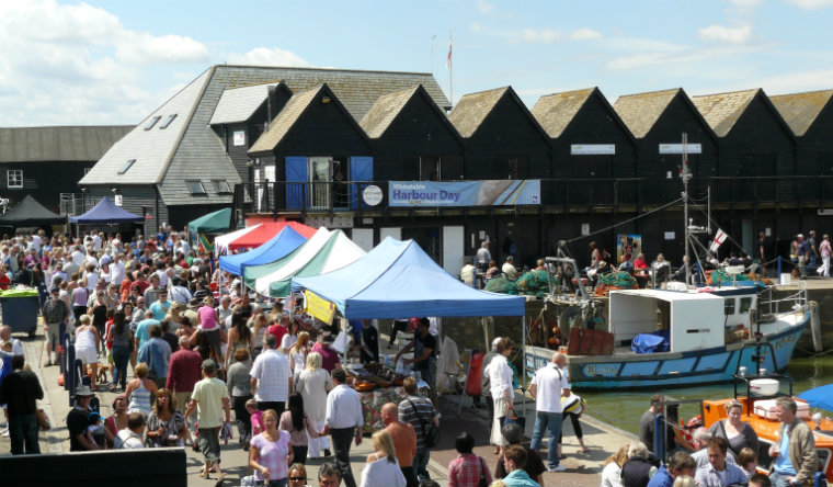 Whitstable Harbour Food Fair WEB