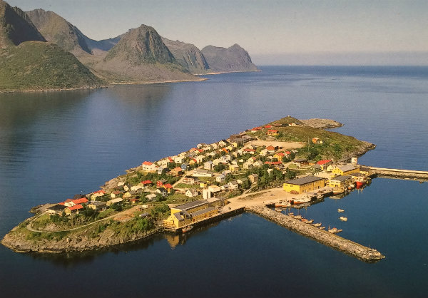 Hosøy, on the north west coast of Norway. Photo credit: Bjørn R. Tellefsen