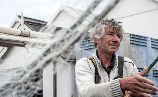 John Cole's striking photo essay captures the strong connections between the small-boat fishing communities on either side of the English Channel.