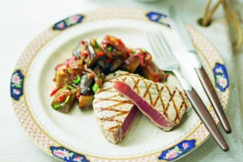 tuna with relish