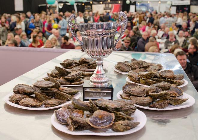 falmouth Oyster Shucking Competition