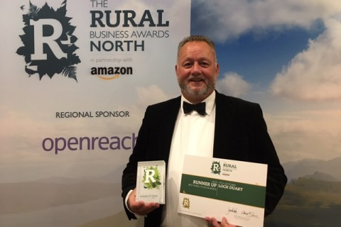 Loch Duart runner up in Best Rural Food Business Award