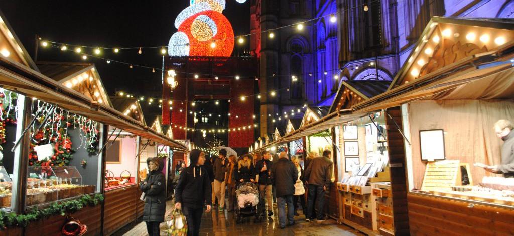 manchester christmas market