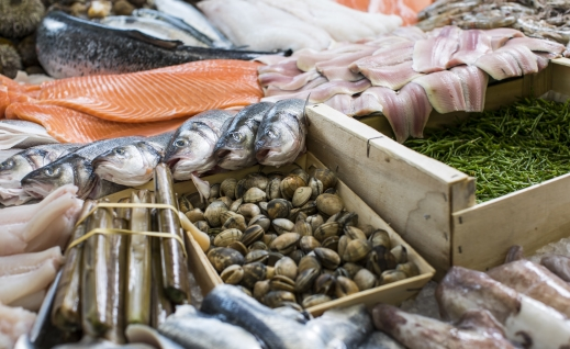 The UK is not eating enough fish, with research showing over one-third of people eating less than the recommended 2 portions per week.