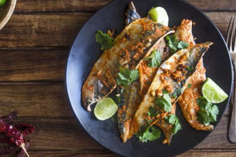 Roast-sweet-potato-with-mackerel-chilli-and-ginger