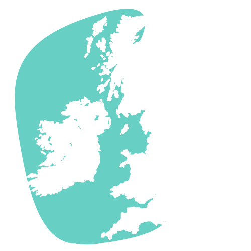 West coast of the UK